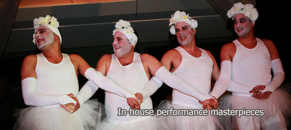Fun Factor -  Performers, entertainment, circus  and team building for corporate events, Sydney